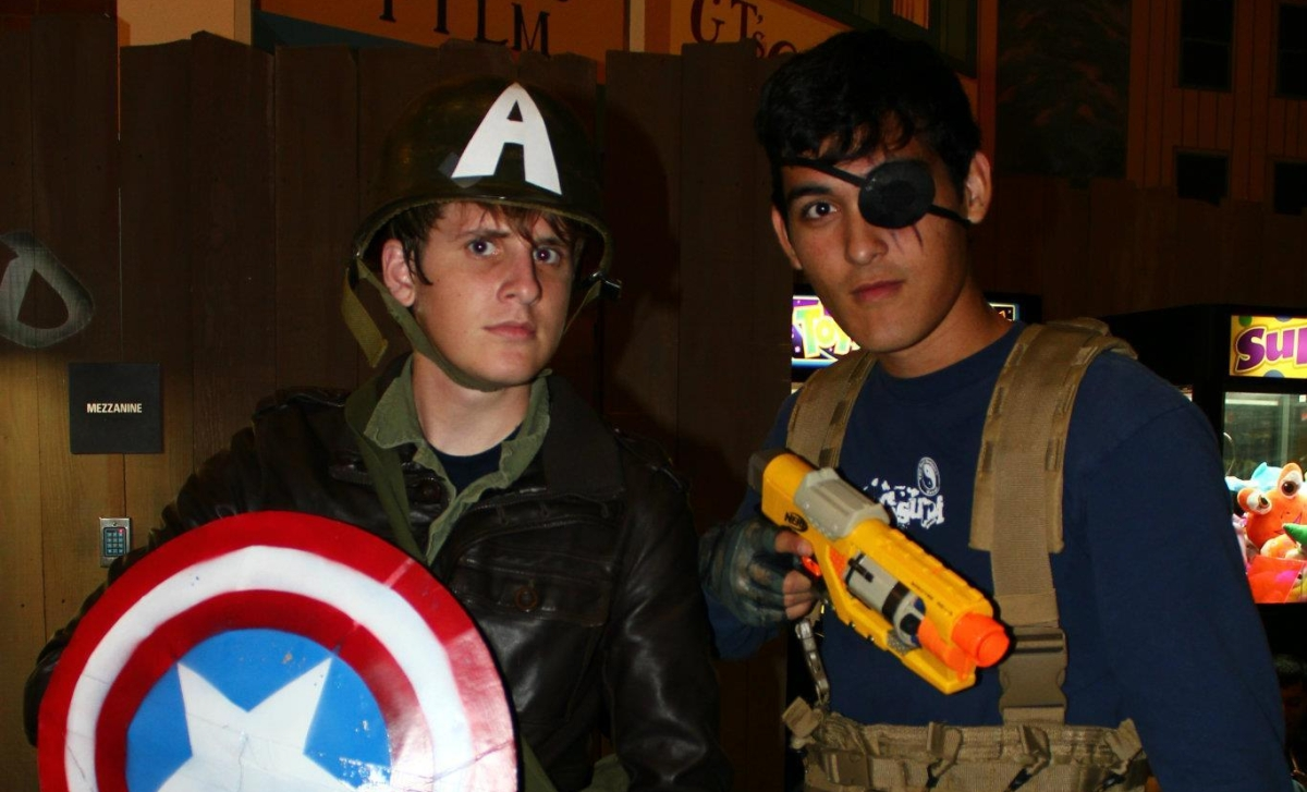 Becoming Captain America
